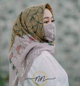 Jilbab masker murah